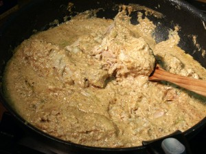 Результат приготовления сациви из курицы