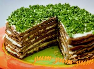 Рецепт торта из говяжьей печени