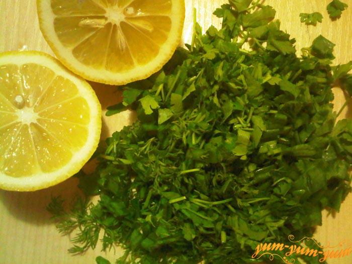 Ингредиенты для засолки семги