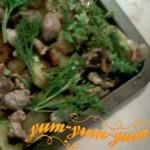 Картофель с мясом и грибами рецепт с фото