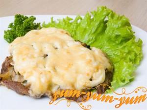 Мясо по-французски с картофелем рецепт с фото