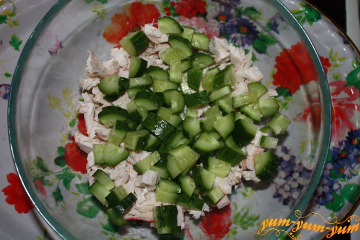 Не перемешиваем слои салата