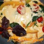 Омлет со шпинатом - Летний день