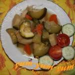 Овощное рагу с цукини - Горячий прием рецепт с фото
