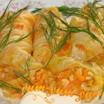 Голубцы с овощной начинкой рецепт с фото