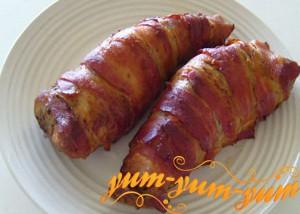 Свинина в беконе и с картофелем рецепт с фото