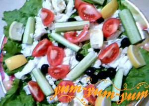 Средиземноморский салат С добрым утром рецепт с фото