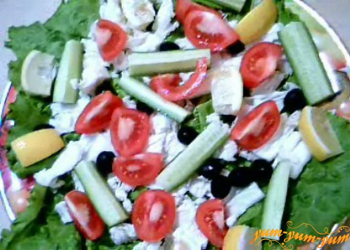 салат к завтраку готов
