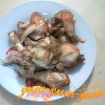 Тушеная курица с орехом рецепт с фото