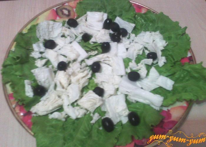 все овощи выкладываем слоями