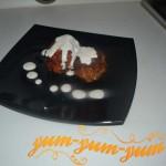 Зразы с перепелиными яйцами и грибами в сметано-чесночном соусе рецепт с фото