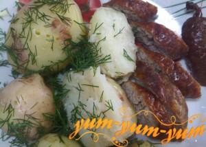 Картофельная колбаса по-домашнему рецепт с фото