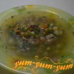 Приготовление супа из консервированной рыбы