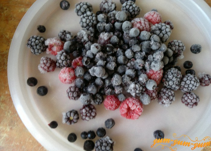 Начинка из ягод для пирога