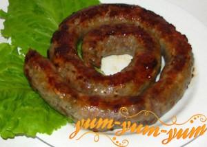 колбаса из свинины готова