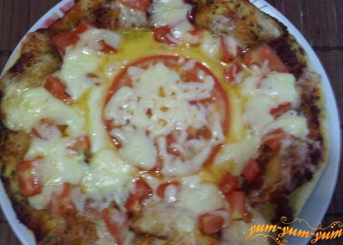пицца маргарита готова