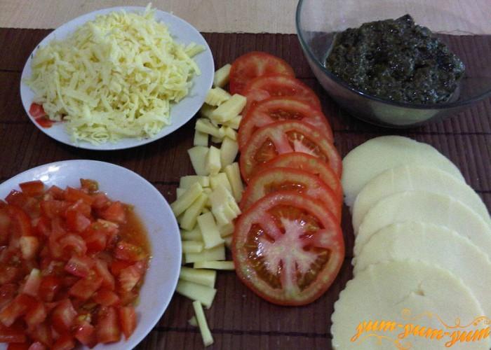 подготавливаем продукты для начинку