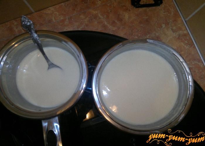Птичье молоко из сметаны