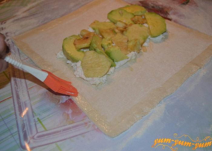 фрукты для яблочного штруделя