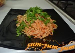 Итальянская паста с курицей рецепт с фото