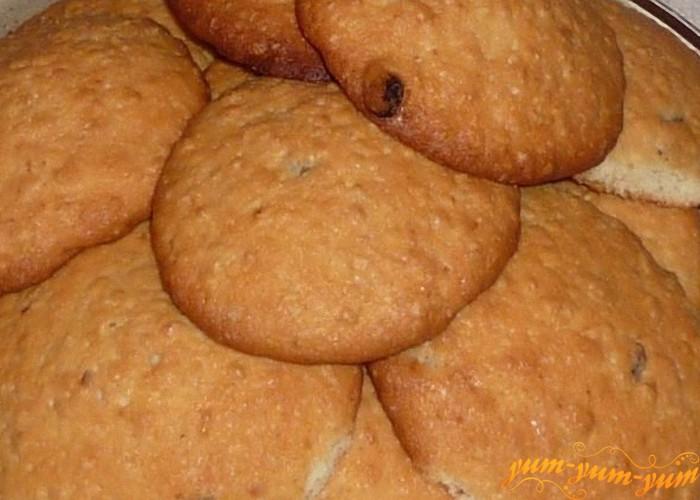 овсяное печенье по домашнему готово