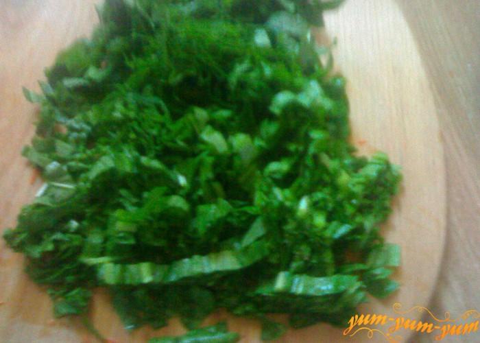 Щавель для зеленого борща
