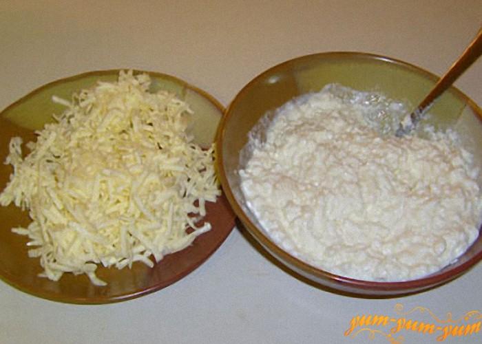 масло и творог для торта