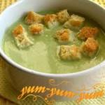 Приготовление супа с креветками и брокколи