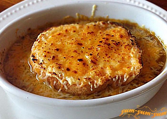 суп по-французски готов