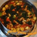 Суп с куриной грудки цукини рецепт с фото