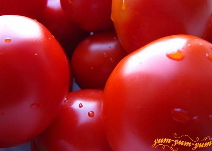 Выбираем крепкие спелые помидоры
