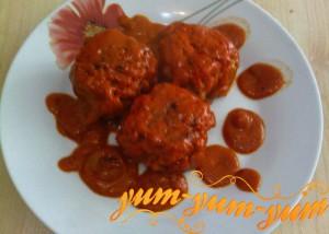 Тефтели с рисом и мясом рецепт с фото