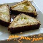 Творожный торт с виноградом рецепт с фото
