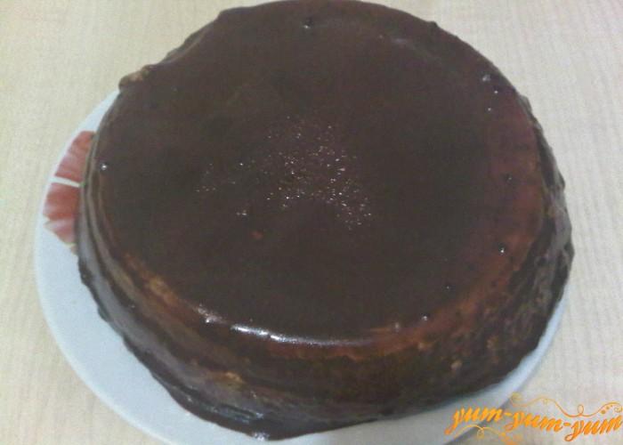 Торт охлаждаем