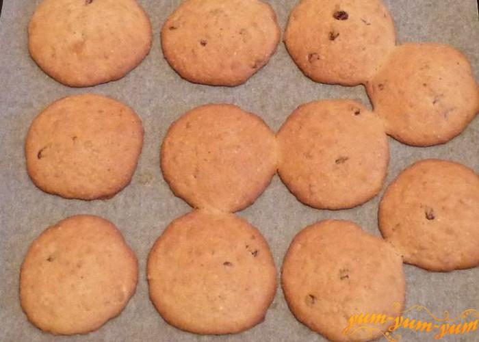 выкладываем овсяное печенье по домашнему на противень