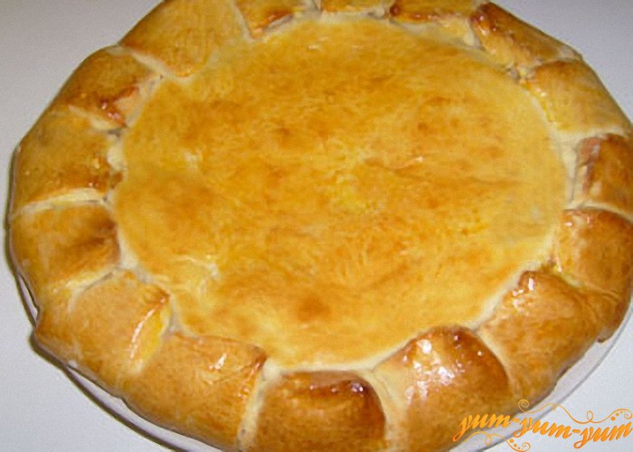 выпекаем пирог из груши до румяной корочки