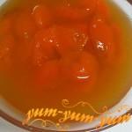Абрикосы в сиропе, домашний рецепт