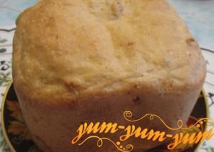 Домашний хлеб с изюмом рецепт с фото
