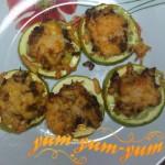 Кабачки фаршированные мясом и пармезаном рецепт с фото