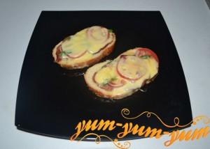 Бутерброд со свининой - Кокетка рецепт с фото