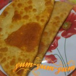 Чебуреки с мясом рецепт с фото