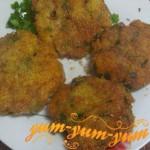 Котлеты с картофеля по-домашнему рецепт с фото