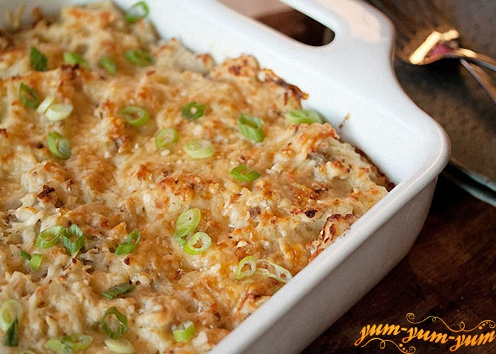 готовый картофель подаем к столу