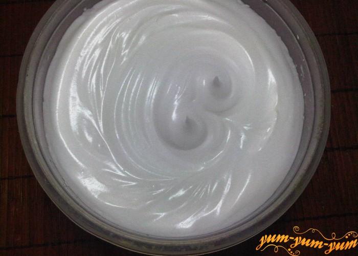 готовый крем из белков