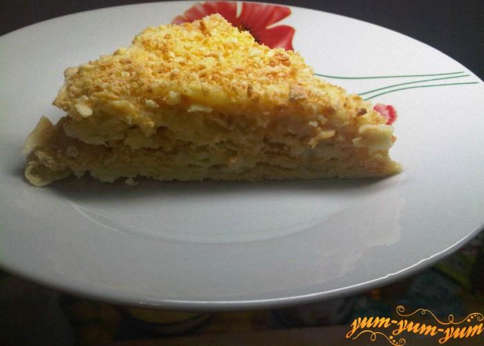 готовый торт подаем к столу