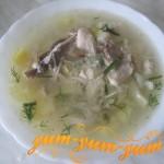 Щи из курицы и капусты рецепт с фото