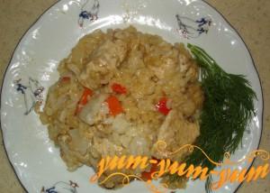 Курица маринованная с рисом по-румынски рецепт с фото