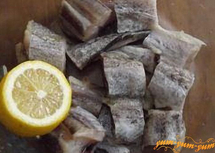 маринуем рыбу лимоном