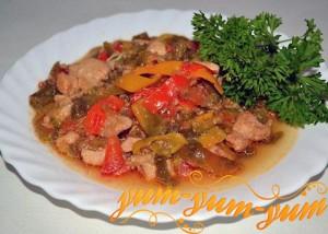 мясо по креольски готово