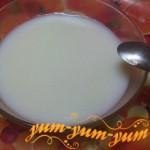 Кисель из крахмала и молока рецепт с фото